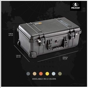 Pelican 1510 case with foam Brand New